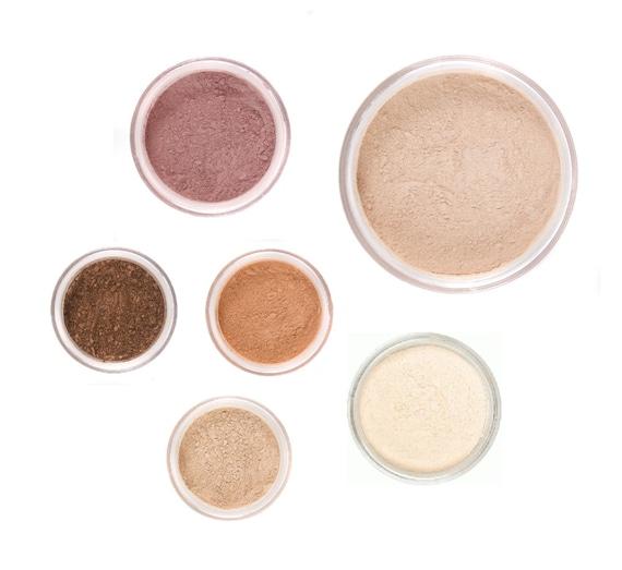 8pc FALL GLOW Mineral Makeup Kit