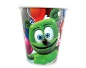 Gummibär The Gummy Bear Pack of 8 Nine Ounce Paper Party Cups