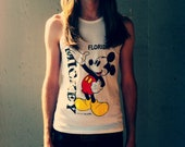 Mickey Mouse Tank - Double sided - Florida