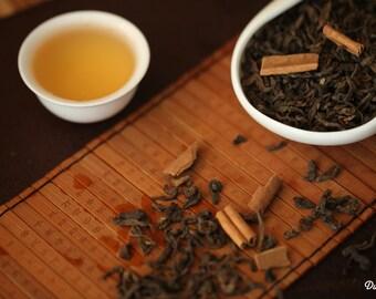 Pu-erh Loose Tea - Cinnamon Pu-erh Loose Leaf Tea Premium Level NET 30 grams/ 1.1 oz