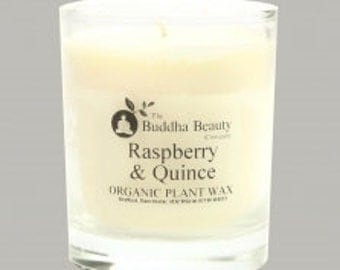Raspberry & Quince Organic Room Candle 30cl