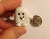Doctor Who Adipose Charm (Handmade, Polymer Clay)