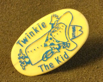 Twinkie The Kid Childrens Ring, Prize or Premium, yellow and blue design