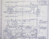 Walt Disney World Haunted Mansion Grand Hall Blueprint