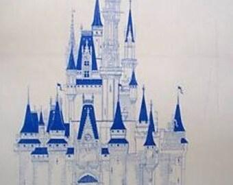 Tokyo Disneyland Castle Blueprint