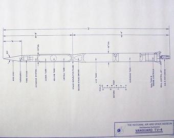 Vanguard Missile Blueprint