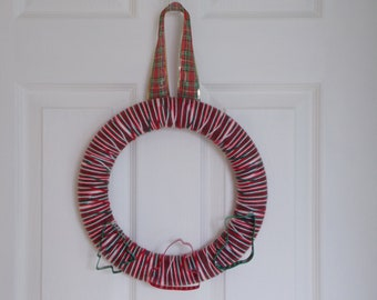 "12"" Baking Memories Christmas Yarn Wreath"