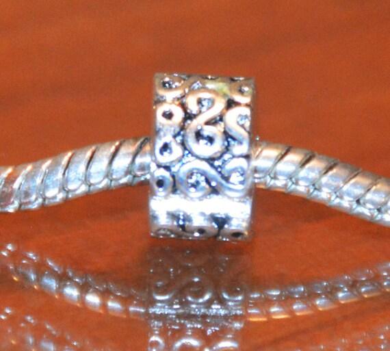 Swirl Design Clip European Style Bracelets