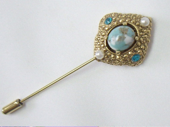 "Vintage ""Remembrance"" Stick Pin SARAH COVENTRY"
