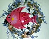 Fish and Frogs Wreath
