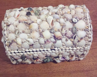 Jewelry Box covered in shells