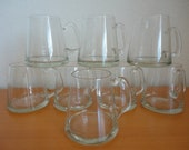 Mid-Century Coffee/Cappuccino Glasses - Set of 8