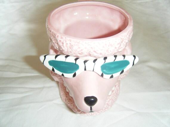 Poodle with a 'tude: Vintage Mug