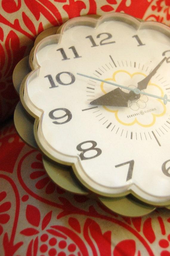Mid-Century Wall Clock