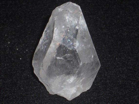 """Self-Standing """"Imperfect"""" Clear Quartz Point"""