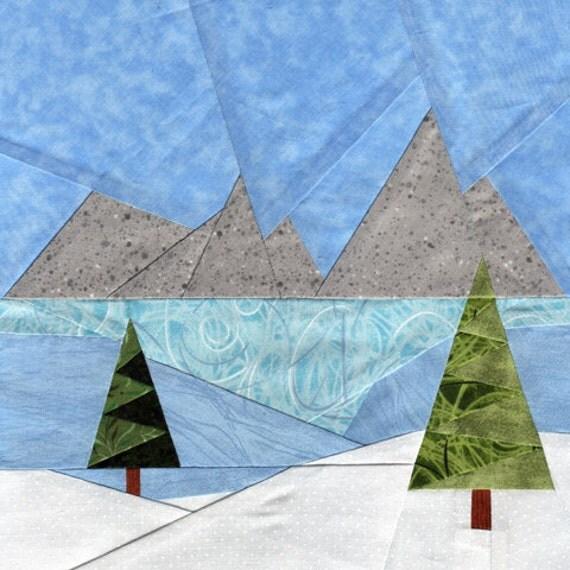 Winter Meadow - Paper Piecing