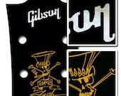 Gibson Les Paul  Slash  AFD guitar headstock  Waterslide Decal Set
