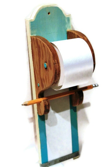 Hanging Note Paper Roll Scroll Grocery List By