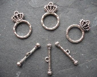 Trio of Crown Toggles