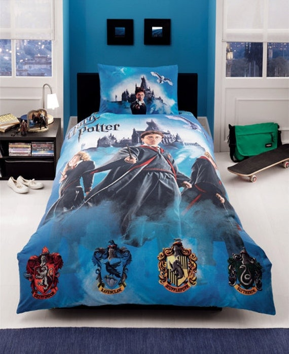 Harry Potter Amp H Blood Sheet Set Single By Baharhometextile