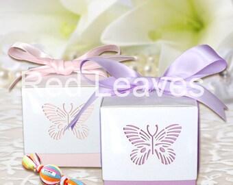 325pcs butterfly Favor box