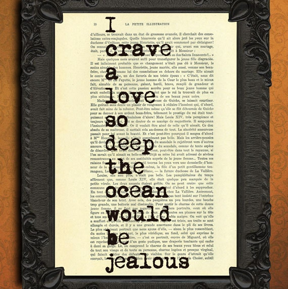 I Love You Quotes Books : love quote dictionary art - love quote book page