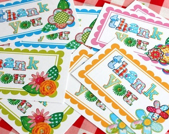Printable THANK YOU Tags -- Perfect for Your Packages (Instant Download)