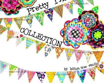 Digital Clip Art --  Pretty Party Collection (Instant Download)