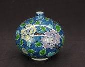 Arita Gen-emon Vase(Dyed with peony)