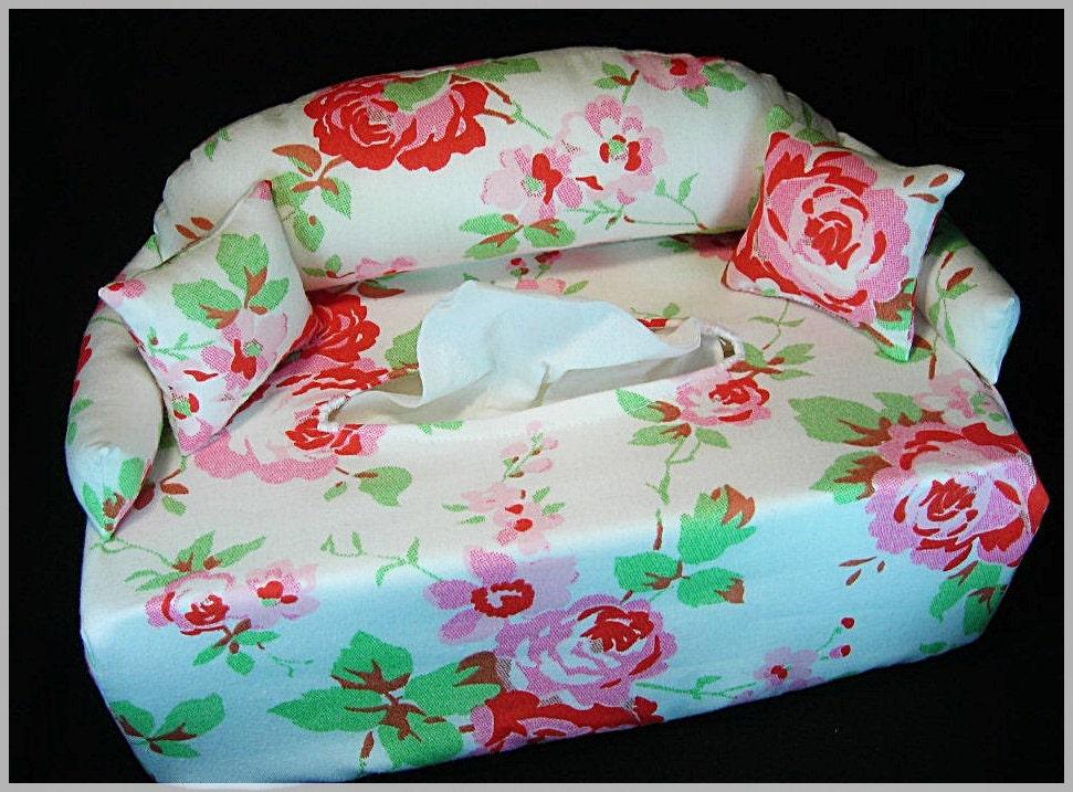 minisofa rosentraum taschentuchsofa couch tissue box cover. Black Bedroom Furniture Sets. Home Design Ideas