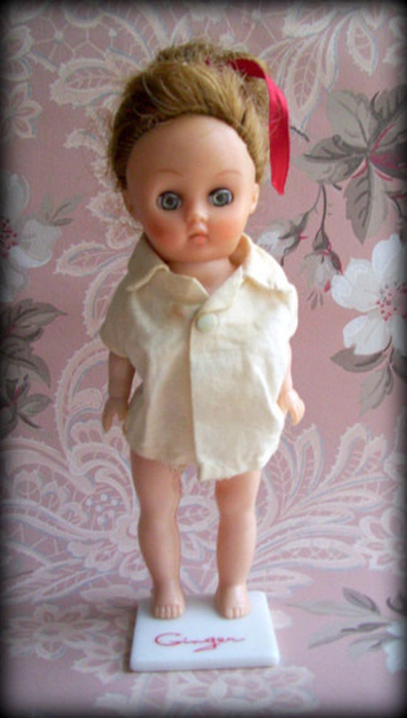 Vintage Ginger Doll By Cosmopolitan Toy 1950 S