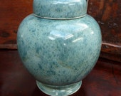 Reserved for BeezusQ  - Marble Ginger Jar