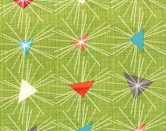 Moda Mod Century Triangle Chartreuse