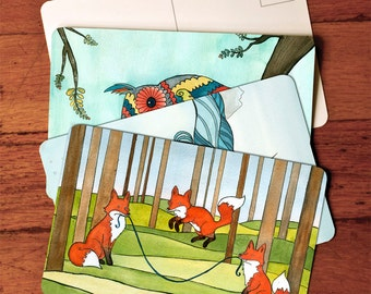 Postcard set - Mix and match any Postcards  4x6