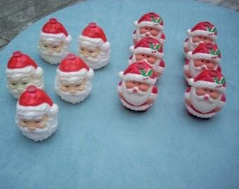 Santa Christmas Tree Light Covers
