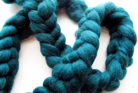 Turquoise Baby Alpaca Top 1 oz