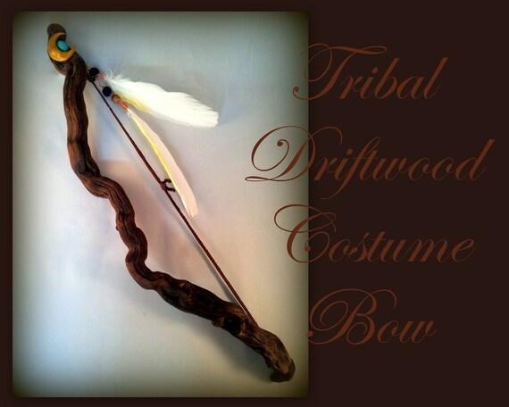 Driftwood Tribal Bow - Costume, Decor