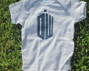 Doctor Who Baby Bodysuit
