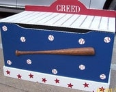 BASEBALL toychest toyBox LOWEST PRICE this year