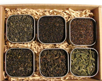 Loose Leaf Tea Sample Box You choose 10 premium loose leaf