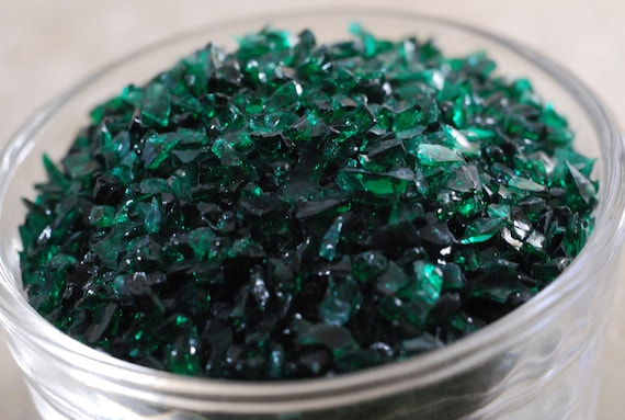 Anna Green - Glass Frit - K1 - CoE 96 - Kugler - 50g (1.76 ounces)