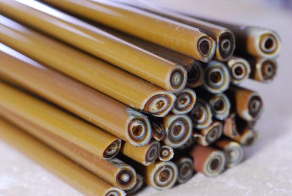 Chalcedony Glass Rods / Cane - CoE 96 - Gaffer 100g