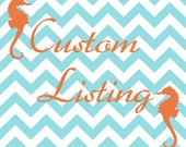 Custom Listing for Rakesh