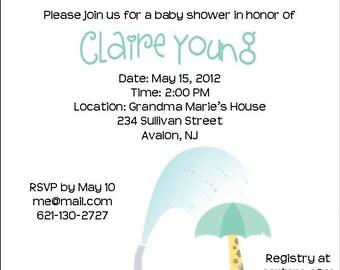 Baby Shower Invite Item 000170