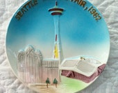Vintage Seattle World's Fair 1962 Plate