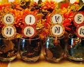 Thanksgiving decorations and recipe cards
