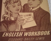 Vintage 7th Grade English Workbook 1948