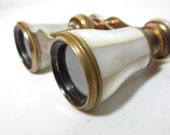 Antique Opera Glasses Mother of Pearl Binoculars La Tour Paris