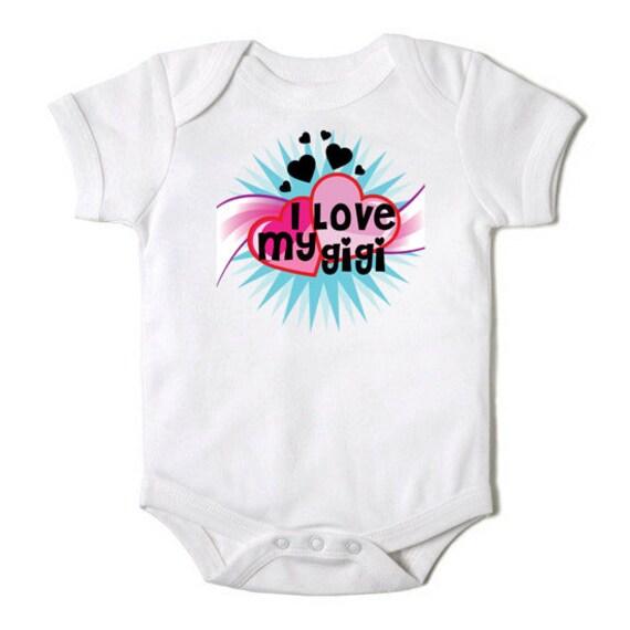 Items Similar To I Love My Mimi Nana Grandma Gigi Baby