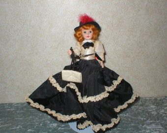 1940's Gibson Doll Celluiod Fully Dressed